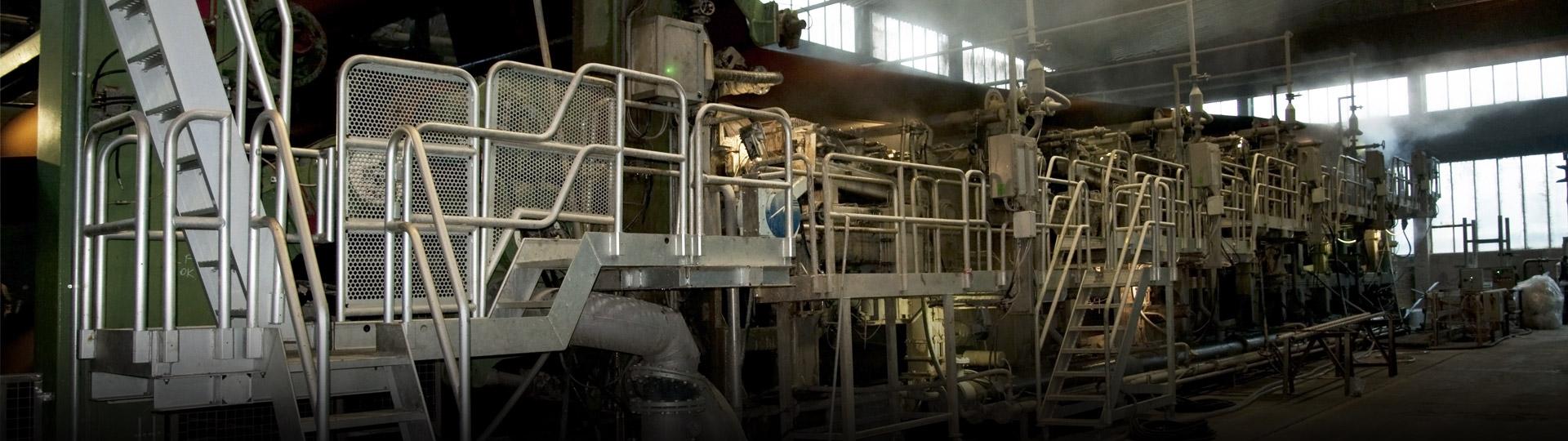 SETTORE CARTARIO<br> La manutenzione e assistenza agli impianti industriali rappresenta il punto di forza della Dytech Service avendo maturato in questo campo una considerevole e specifica esperienza disponendo di tecnici qualificati.